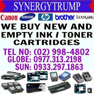 HIGHEST PRICE BUYER OF EMPTY INK CARTRIDGES & TONER