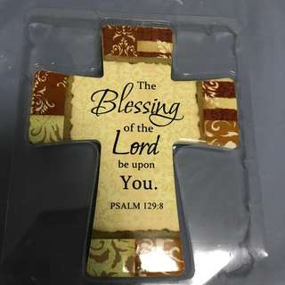 Cross with Bible Verse from Lifespring