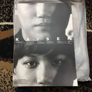 EXO Kai KAISER Fansite Photobook