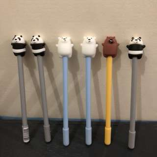 We Bare Bear Ballpen 🐻