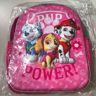 Paw Patrol 3D Bag With Free stationery and stickers