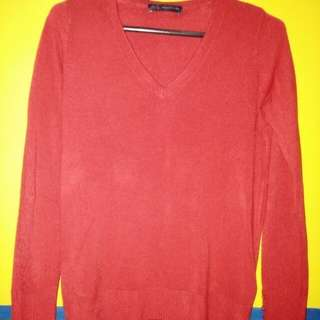 Sale! Red Knitted Sweater
