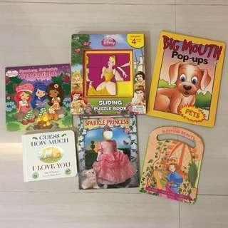 PL Bundle Books (Girls) for 3-5yo