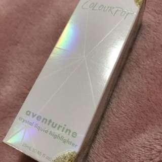 COLOURPOP || Aventurine Liquid Highlighter