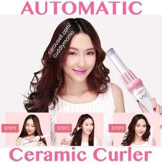 Automatic Curler Vivid Vogue Ceramic Hot Iron Rod