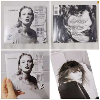 CD Taylor Swift Reputation Original Import