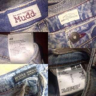 Sale!! Sale!! denim shorts (hw, lw)
