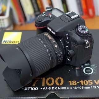 D7100 Nikon full set like new