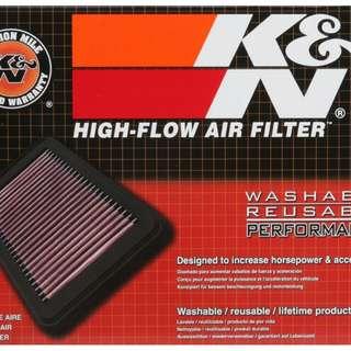 K&N air filter suzuki swift 1.5l