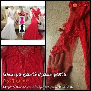Gaun pengantin/gaun pesta