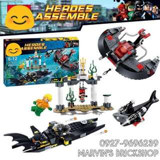 For Sale Black Manta Deepsea Strike Building Blocks Toy