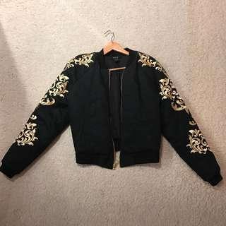 Women's Size Small Ksubi Bomber Jacket