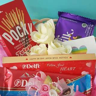 Paket Coklat Valentine 3