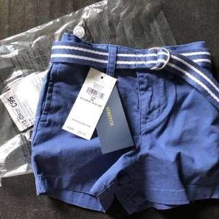 BNIP Baby boy shorts 9m