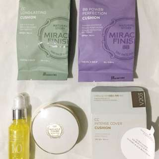 The face shop Cushion and Vit. C serum