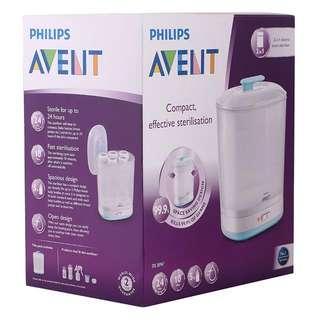 Philip Avent 2 in 1 Sterilizer **Free two milk bottles