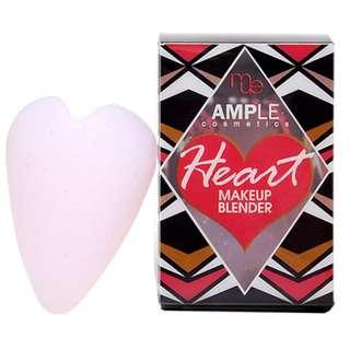 Ample Heart Applicator/blender/sponge/eraser