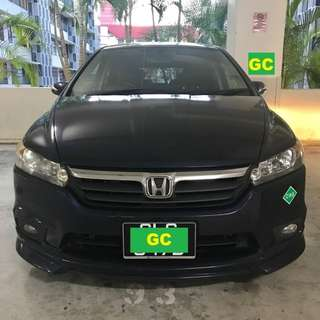 Honda Stream RENTING CHEAPEST RENT FOR Grab/Uber USE
