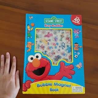 Sesame street magnets book