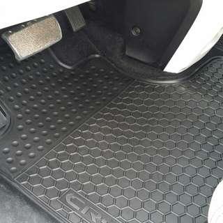 【口袋雜貨屋】HONDA CRV3 3.5 CRV三 CRV4 CRV5 HR-V 防水橡膠腳踏墊 防水墊 踏墊 腳踏墊