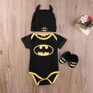 Batman Baby Onesie Set