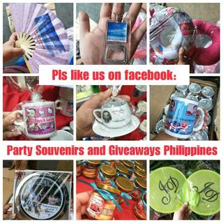 Customized Souvenirs Giveaways Party favors Birthday Wedding Souvenirs