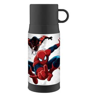 SALE! BRAND NEW  Thermos Funtainer 12 Ounce Warm Beverage Bottle, Spiderman