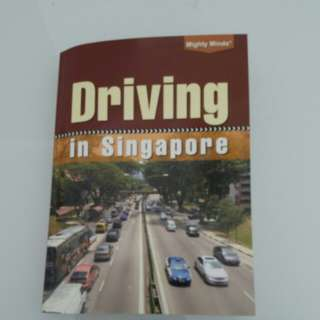 Driving in singapore book for sale!