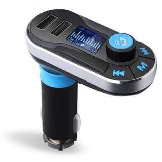 車載藍牙mp3播放機 免提手機通話 車載充電器 無損音樂 發射器