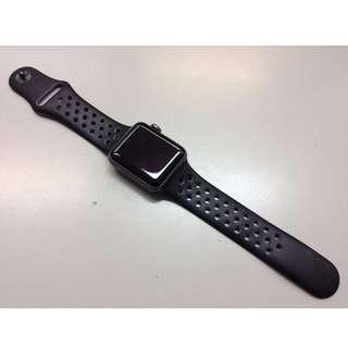[CNY SALE] Apple Watch Nike+ (Series 2) 太空灰鋁金屬錶殼配上煤黑色配黑色 Nike 運動錶帶 (Space Gray Aluminum Case with Anthracite/Black Nike Sport Band)