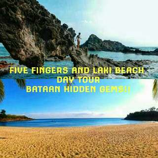 Five Fingers with Laki Beach Day Tour! ❤