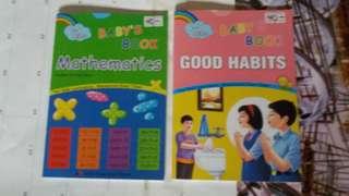 Baby books Mathematics & Good Habits