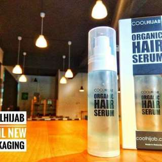 [Instock] Organic hair serum cool hijab 30ml - min 2 to buy