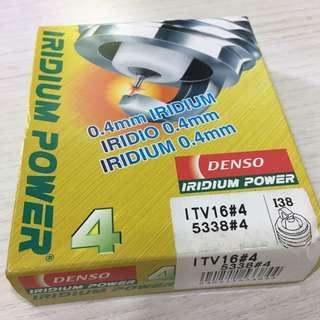 Genuine Denso Iridium Spark Plugs ITV16