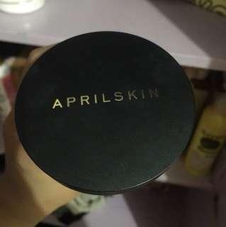 April skin cushion