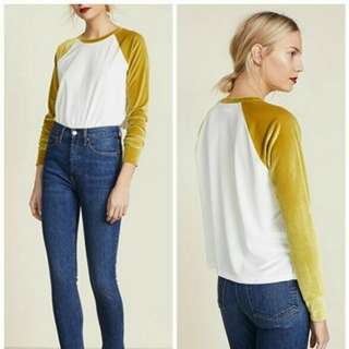 MADEWELL White Gold Blouse