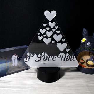 Mountain of Love Bedside Lamp | Night Light