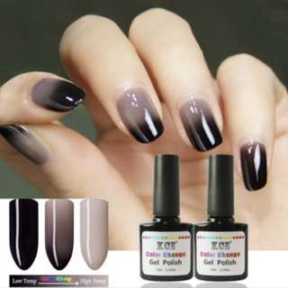 UV Gel Colour Changing Nail Polish