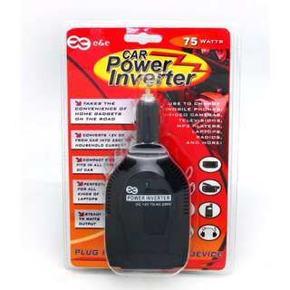 E & E Car Power Inverter 75W