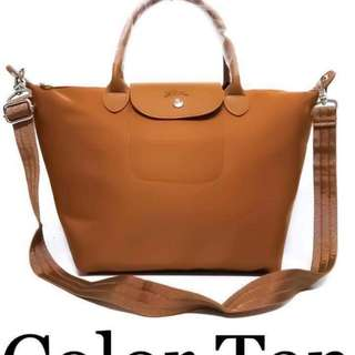 Longchamp bag size : 14 inches (medium)  with dustbag