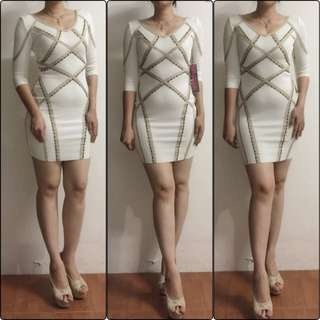 Dress herve lager orginal branded asli premium midi mini sexy  stuff import terjamin