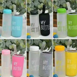 My bottle doff + pouch