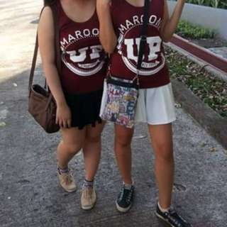UP Maroon Top