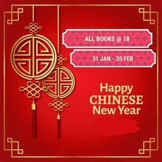🚨CNY FLASH SALE🚨 ALL BOOKS @ $17.99