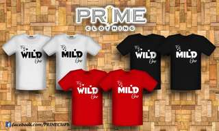 Mild One & Wild One Couple Shirt