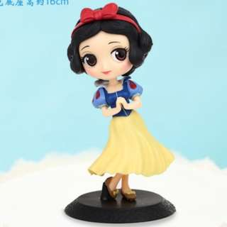 Princess cake topper  (Snow white)