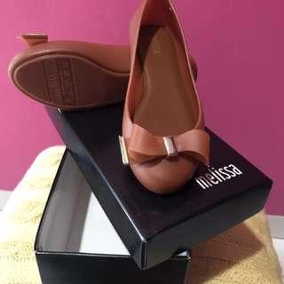Melissa jelly shoes autentik brown size 35.36