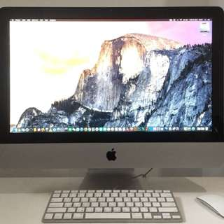 iMac (21.5 英吋, 2011 年中) 包含雙系統 Windows 7、繪圖軟體、影音軟體。不2價 感謝