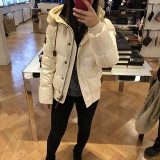 Coach 全新羽絨短裝大衣購自加拿大,原價$3500