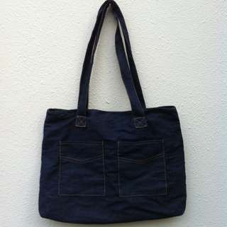 Denim bag. In good condition.